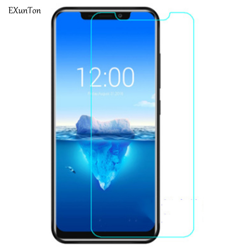 EXUNTON 2PCS For <font><b>Oukitel</b></font> U25 C12 C11 Pro U25Pro C12Pro <font><b>C11Pro</b></font> Super Clear Ultra thin Tempered Glass 2.5D Screen Protector Film image