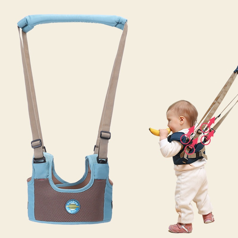 Купить с кэшбэком New Arrival Baby Walker,Baby Harness Assistant Toddler Leash for Kids Learning Walking Baby Belt Child Safety Harness Assistant