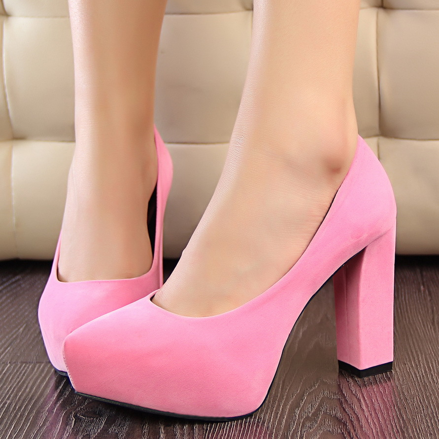 Aliexpress.com : Buy Real Photos Women Sexy Mid heel Pumps Women
