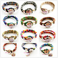 Handwork mix 12 color 18 mm Silver tree of life Metal Snap button Cloth art bracelet jewelry for Christmas Gift (free button)