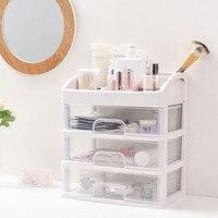 Storage drawers divider cosmetics stationery high capacity Storage Box drawer organizer PP plastic drawer storage cabinet