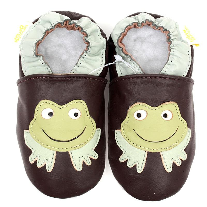 Leder Baby Mokassins Tier Baby Kinder Schuhe Junge Säuglingsschuhe Mädchen Erste Wanderer Neugeborene Babyschuhe Junge Slipper Weiche