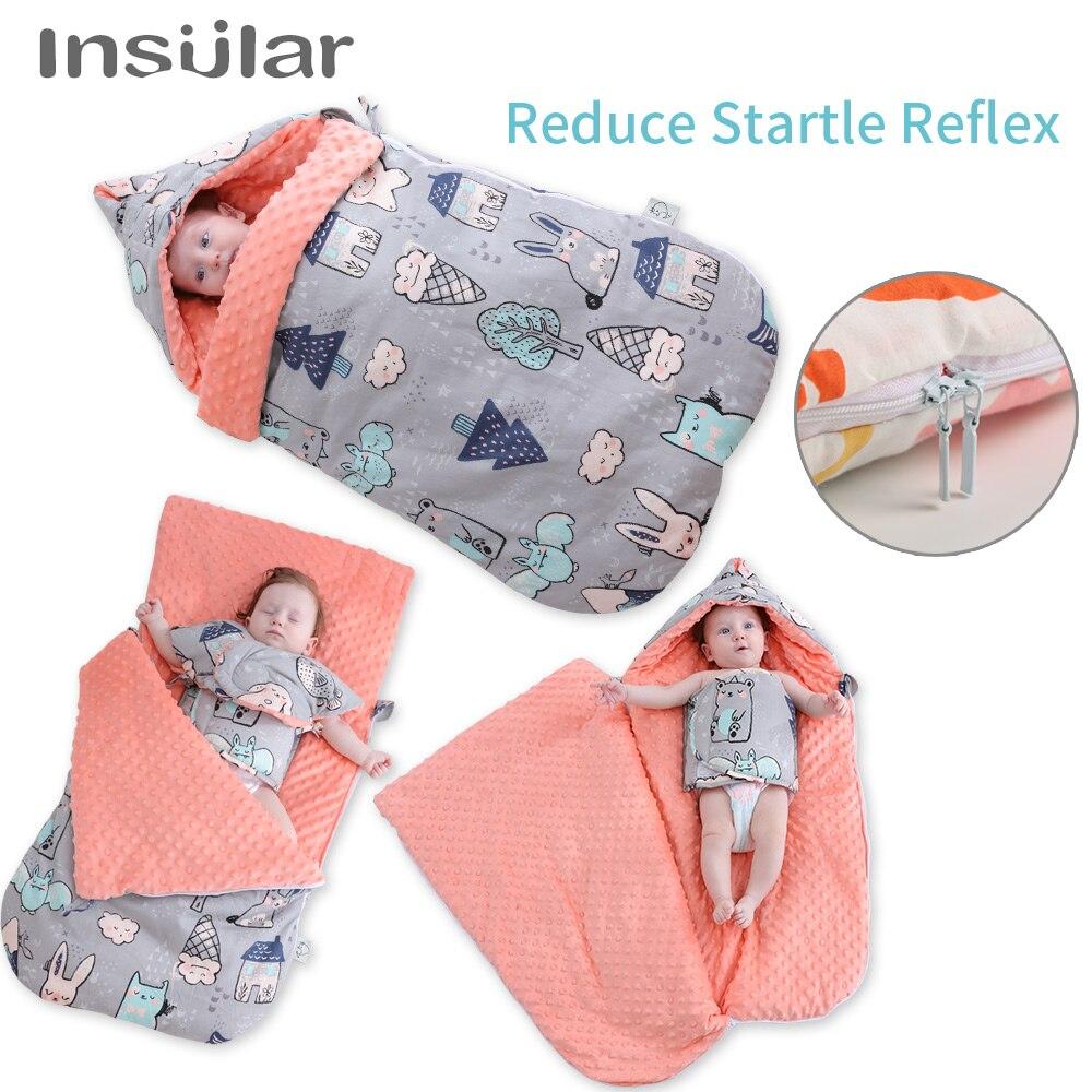 W wieku 0 3 rok noworodka kopertowy śpiwór wózek Sleepsacks zima dziecko przewijać dziecko koc Wrap niemowlę śpiwór dla dziecka do wózka w Torby do spania od Matka i dzieci na AliExpress - 11.11_Double 11Singles' Day 1