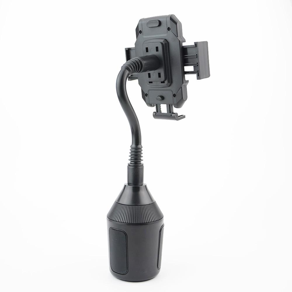 Universal Portable Car Bracket 360 Degree Adjustable Auto Cup Mobile Phone GPS Black Holder Magnet Car Stand Holder in Universal Car Bracket from Automobiles Motorcycles