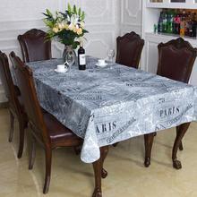 American retro do old individuality creative waterproof cloth art computer desk desk table table cloth