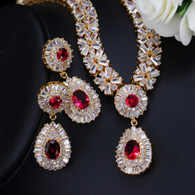 High Quality African CZ Beads Jewelry Sets