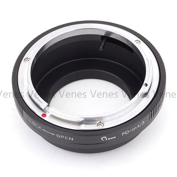 ADPLO 010053 Camera lens Adapter Suit for FD M4 3 Lens adapter for Canon Lens to Suit for M4 3 Camera For Panasonic LUMIX GX9 in Lens Adapter from Consumer Electronics