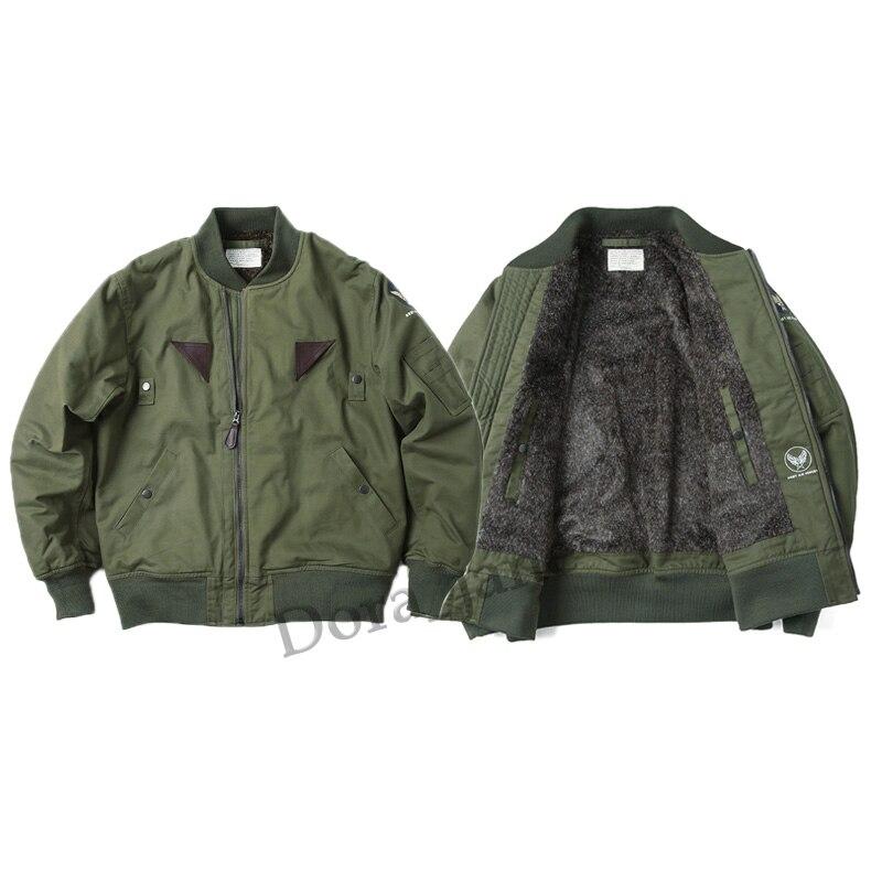 Design; In 2019 Fashion 2018 Usaf Army Ww2 Vintage Polit B-15 Flight Bomber Jacket Military Usaaf Winter B15 Mod Coat For Men Novel