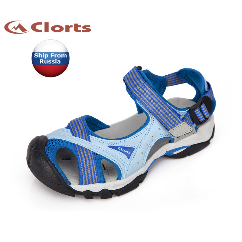 ФОТО (Shipped From Russian Warehouse)2017 Clorts Women Sports Sandals Summer Aqua Shoes Synthetic Upper For Women SD-202A/B/C