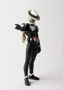 "Image 3 - Original BANDAI Tamashii Nations S.H.Figuarts (SHF) Action Figure   Kamen Rider Skull ""Kamen Rider W & Decade Movie War 2010"""