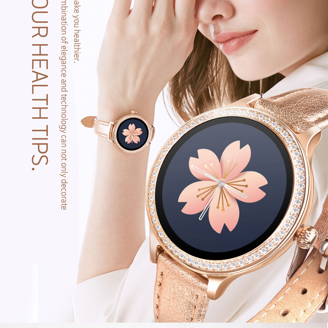 IP68 Smart Watch Women Fitness Bracelet Activity Tracker Heart Rate Monitor Blood Pressure Sports Smartwatch For Women
