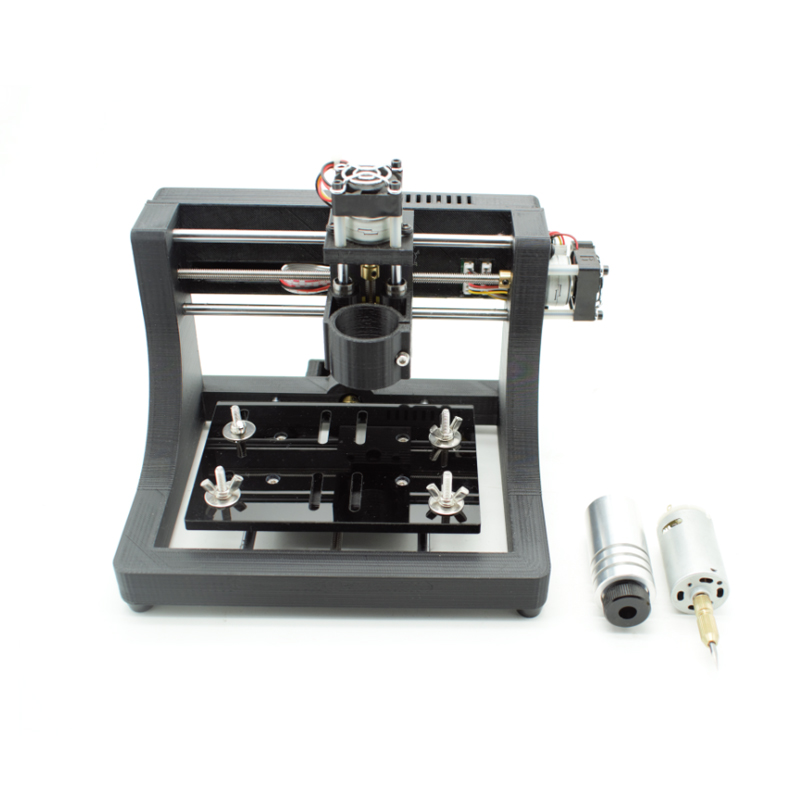 JEDI CNC1208 500mw laser cnc Machine ,super mini hobby pcb milling Wood Router for learning & study best toy Assembled mini cnc router machine 2030 cnc milling machine with 4axis for pcb wood parallel port