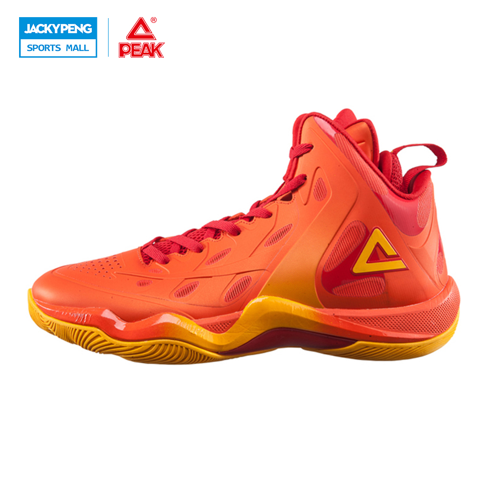 PEAK SPORT CHALLLENER II Men Basketball Shoes FOOTHOLD Tech Competitions Sneaker Breathable High-Top Athletic Boots EUR 40-48 peak sport star series george hill gh3 men basketball shoes athletic cushion 3 non marking tech sneakers eur 40 50