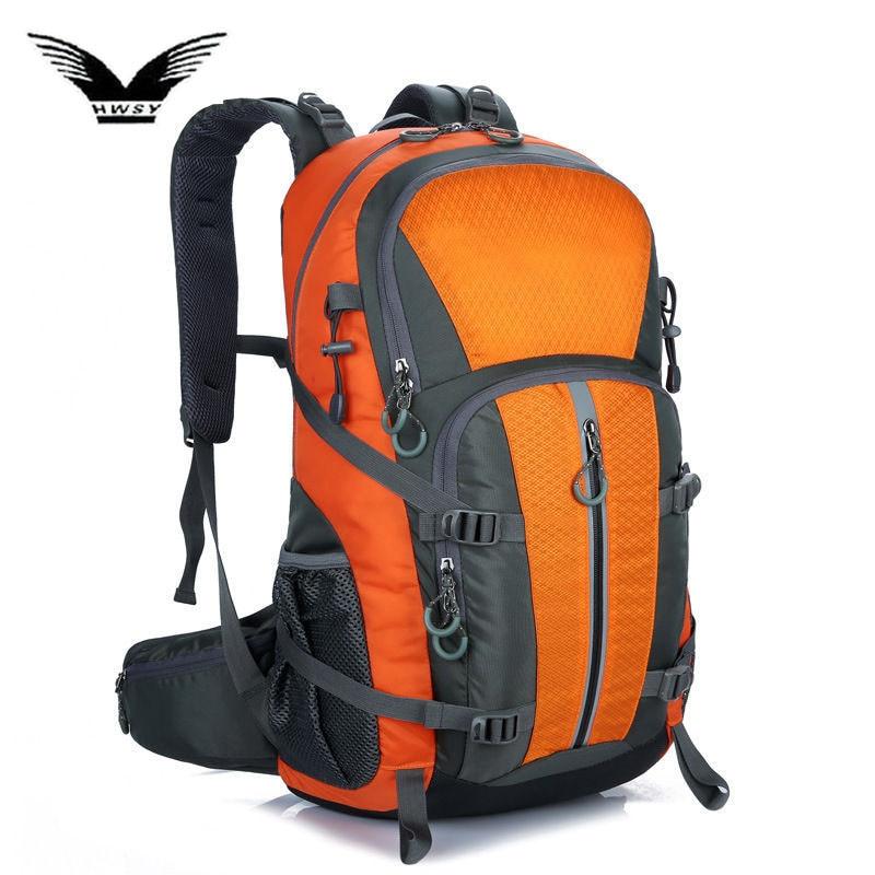 40L Outdoor Sport Camping Backpack Wear Resistant Backpacks Mountaineering Hunting Travel Rucksack Waterproof Sports Bag XA94WA