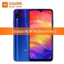 Xiaomi Redmi Not 7 3 GB 32 GB Küresel ROM Snapdragon 660 Octa Çekirdek Cep Telefonu 4000 mAh 6.3