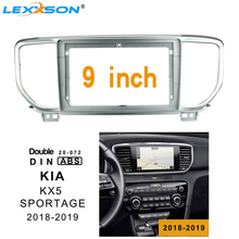 9 inch 2din car radio Fascia For Kia KX5 SPORTAGE 2018-2019 Stereo Double Din dvd frame Install Panel Dash Mount Installation
