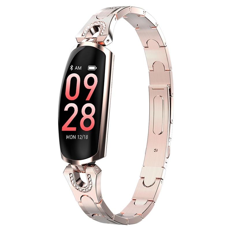 2019 AK16 női intelligens zenekar fitnesz karkötő pulzusszám karkötő vérnyomás WristWatch Fitness Tracker intelligens karóra Smartband (1)