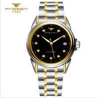 2017 New Simple Men Watch FNGEEN Wristwatch Waterproof Casual Steel Automatic Mechanical Casual Calendar Sportsman Wear
