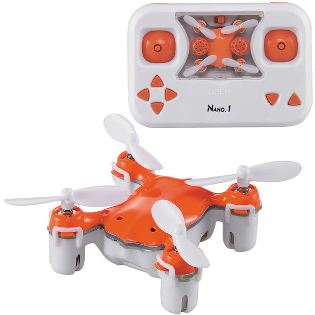 2017 Novo Mini Drone Quadcopter RC Nano Nano 1 Bolso X1 RC LEVOU Luz Controle Remoto Quadcopter Zangão Helicóptero Dublê