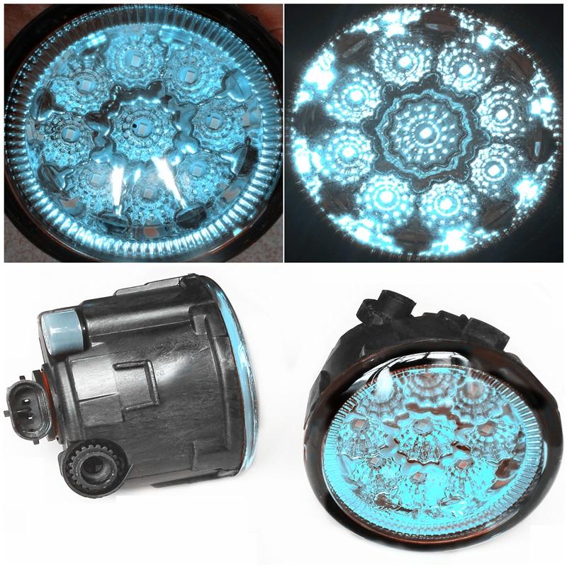 For Infiniti FX35  2006-2012 Car-Styling Led Light-Emitting Diodes DRL Fog Lamps Blue Glass bosch bt300 hd 0 601 091 400