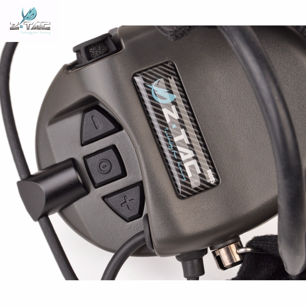 Z Tactical Softair օդաչու ականջակալ Comtac TCI - Որս - Լուսանկար 4