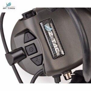 Image 4 - Z Tactical Softair Pilot Headset Comtac TCI Liberator II Neckband Sordin Thoradin Pickup Noise Canceling Hunting Headphones Z039