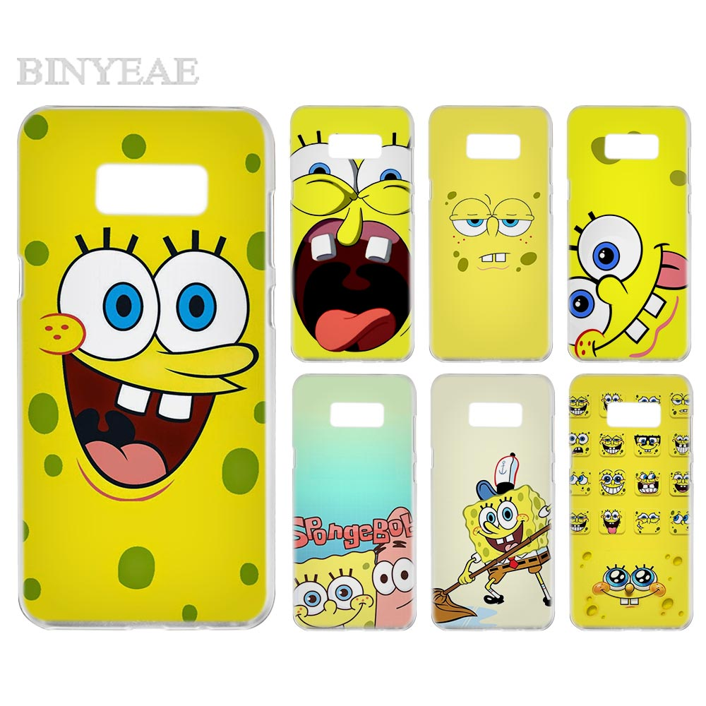 Cellphones & Telecommunications Binyeae Cartoon Spongebob Squarepants Transparent Phone Case Cover Cases For Samsung Galaxy S3 S4 S5 S6 S7 S8 S9 Edge Plus Mini Year-End Bargain Sale
