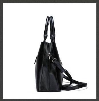 Genuine Leather Large Handbags  3