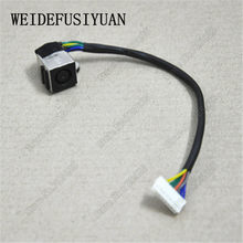 Free hipping 1pieces AC DC POWER JACK CABLE HARNESS FOR Dell XPS L501X L502X 6f255340d60c