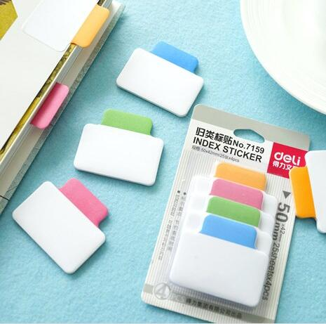 Multi-Function Classified Index Sticker Memo Notepad Notebook Memo Pad Self-Adhesive Sticky Notes Bookmark classified london