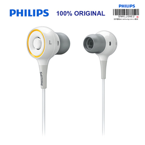 Image 2 - Original Philips SHE6000 Earphone Sport Headset In Ear Running Earpads for xiaomi Galaxy S9 S9Plus Official Certification