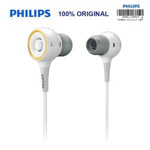 Image 2 - Originele Philips SHE6000 Oortelefoon Sport Headset In Ear Running Oorkussen voor xiaomi Galaxy S9 S9Plus Officiële Certificering