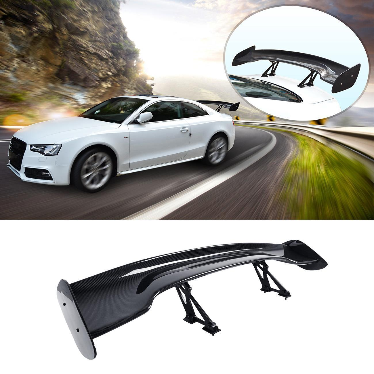 Universal 57 W Style ABS Trunk GT Spoiler Wing