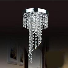 Modern K9 Large LED Spiral Living Room Crystal Chandeliers Light Fixtures for Staircase Stair Lamp Led