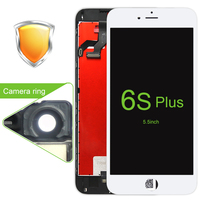 2PCS AAA LCD For IPhone 6S Plus LCD Screen Display With Touch Digitizer Frame Assembly 5