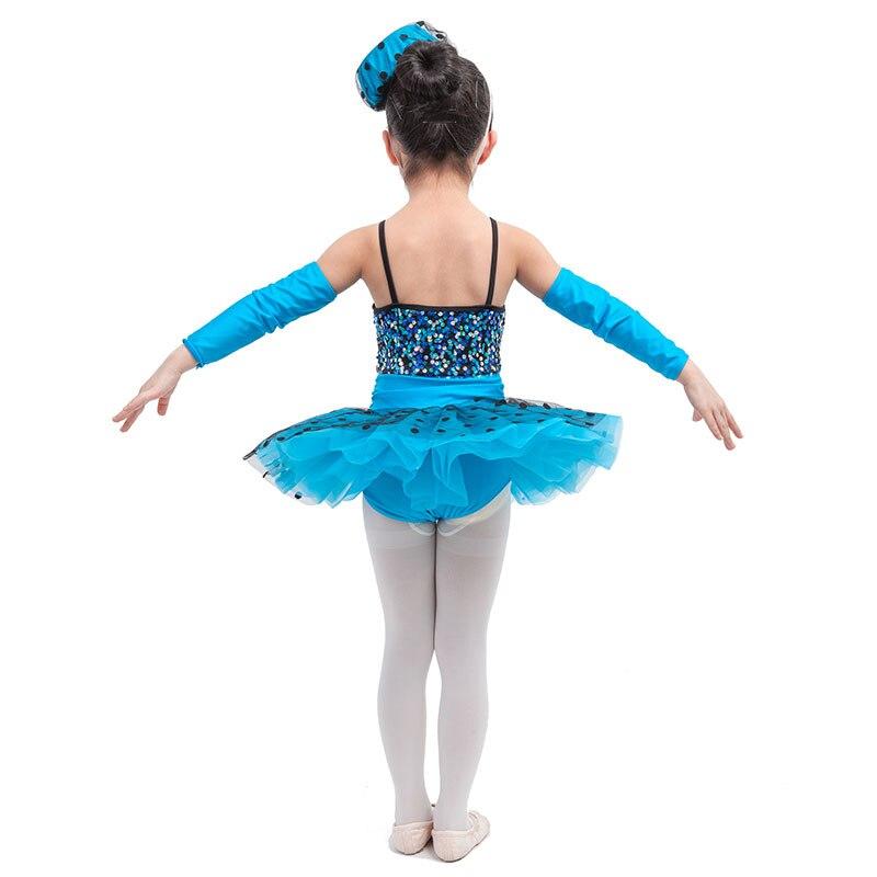 eb1be3605 Shining Sequin Child Stage Performance Tutu Dress Girls Ballet Jazz ...