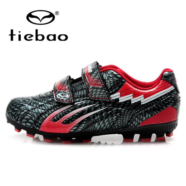 TIEBAO Professional Outdoor Soccer Shoes Children Kids Teenagers Football Cleats Boys Girls H & A Sole Training Football Boots