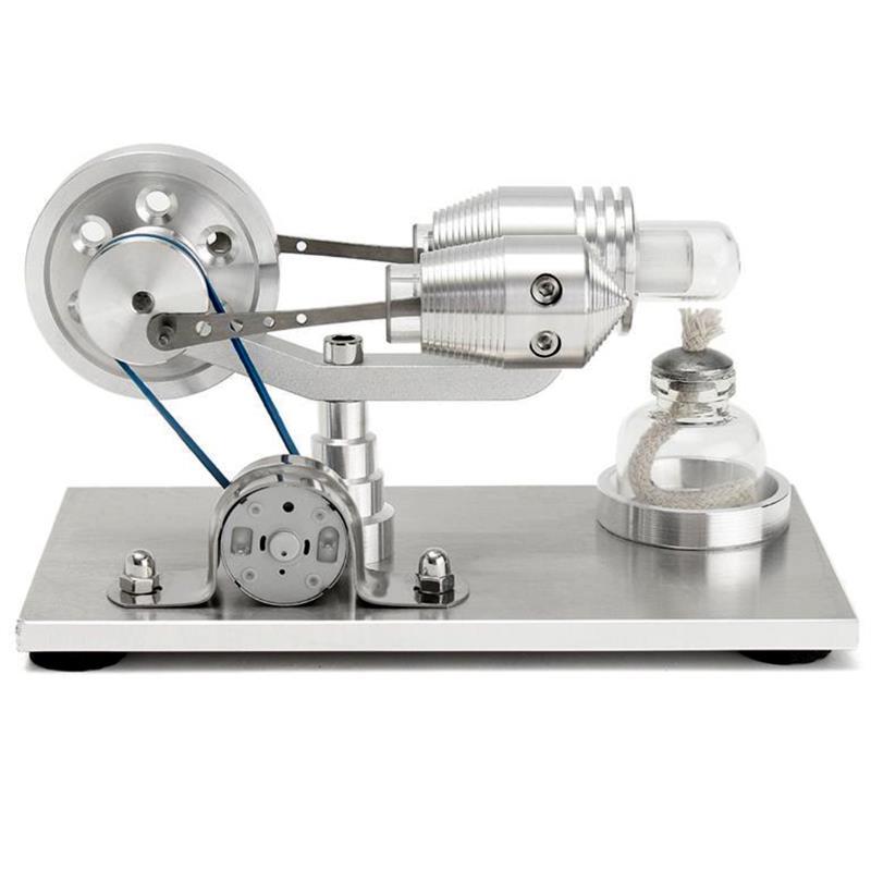 Ensemble d'expérimentation physique de brûleur d'alcool de générateur d'électricité de moteur de Stirling d'air chaud