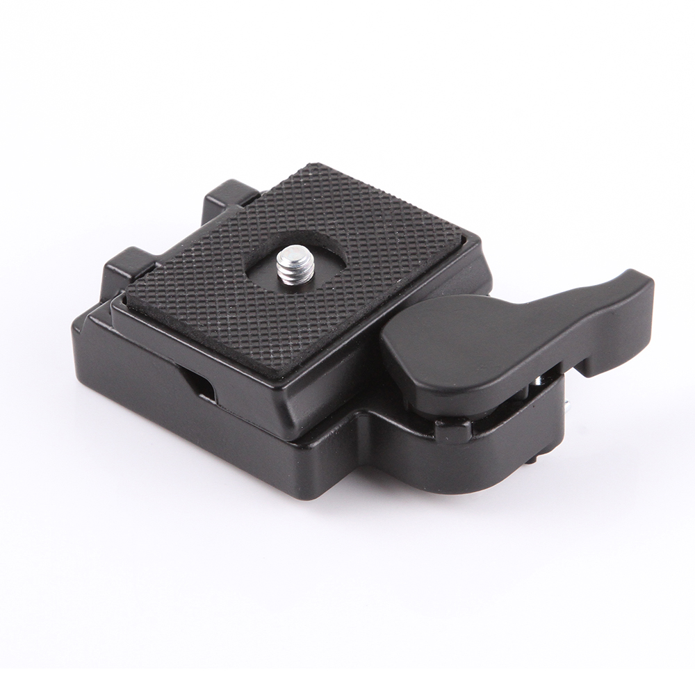 Kamera 323 RC2 Schnellwechselplatte & Clamp Adapter für Manfrotto Stativ Einbeinstative 200PL-14