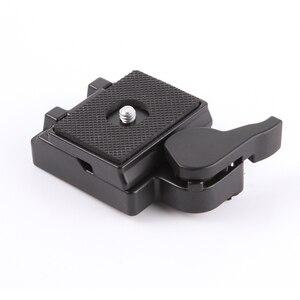 Image 1 - Placa de liberación rápida y adaptador de abrazadera para tripode Manfrotto monopod 200PL 14, cámara 323 RC2