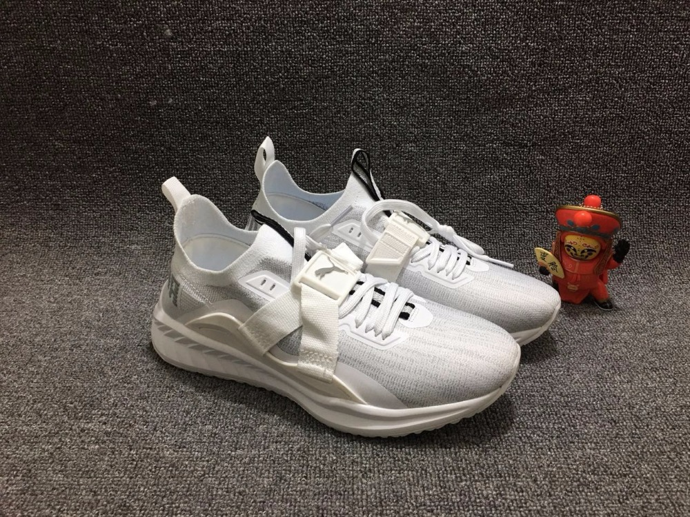 7ba5bf1a8979 Original New Arrival 2018 PUMA PUMA TSUGI JUN CUBISM Socks shoes for men s  and women s badminton shoes size 36 45-in Badminton Shoes from Sports ...
