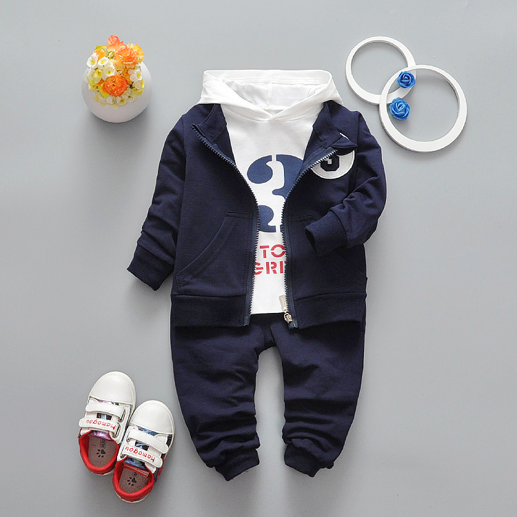 Pants Sport Tracksuit Clothes Sets Baby Boys Girls Cartoon Minion Clothing Set Children Kids Hoody Vest Long Sleeve T Shirt