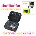 Go pro Аксессуары Небольшой Портативный Хранения Сумка для Фотокамеры Чехол для Xiaomi yi Gopro Hero 5 4 3 + Действий Камеры SJ4000 SJ5000