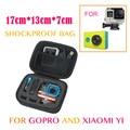 Go pro Accessories Portable Small Storage Camera Bag Case for Xiaomi yi Gopro Hero 5 4 3+ Action Camera SJ4000 SJ5000