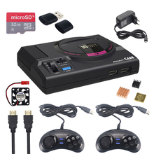 Retroflag MEGAPi CASE M คลาสสิก USB Controller M + อะแดปเตอร์ + 32GB SD Card สำหรับ Raspberry Pi 3 รุ่น B + PLUS RetroPie