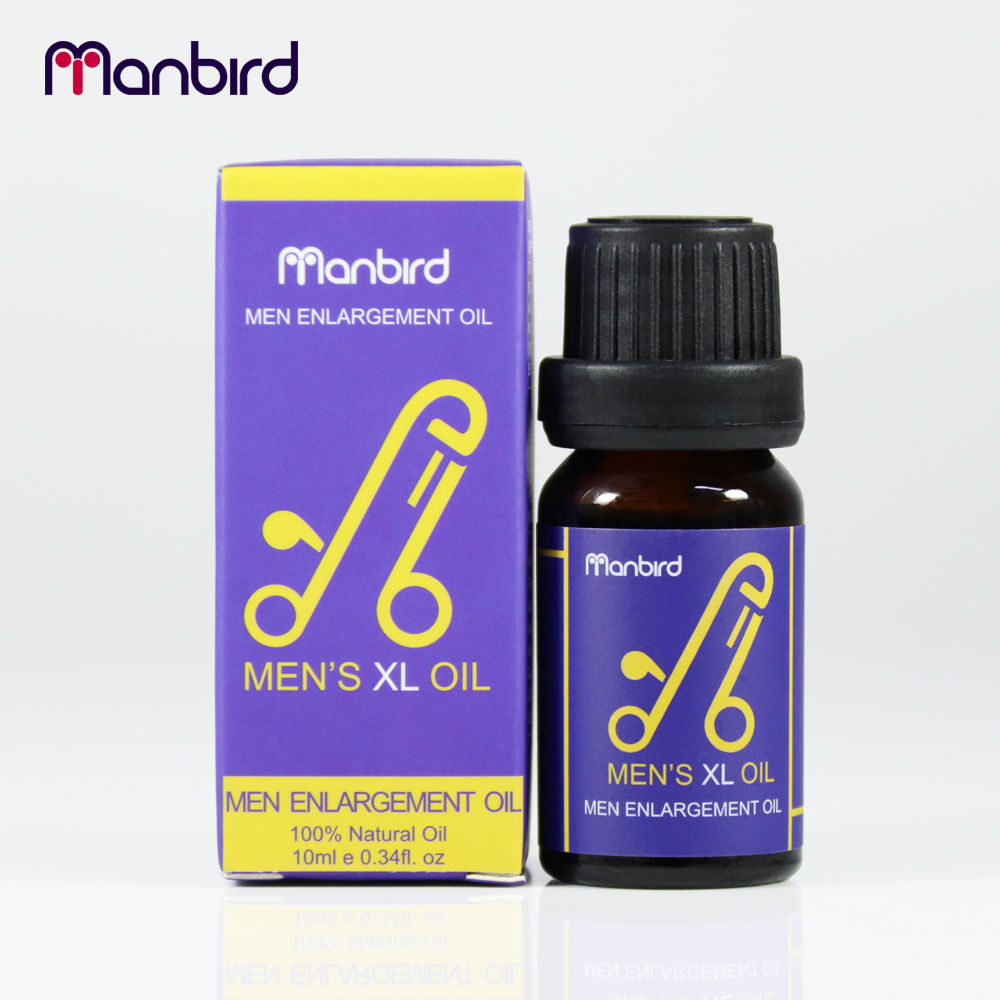 Manbird Men Big Dick Penis Enlargement Massage Essential Oil Lube Cock Permanent Thickening Increase Growth XL sex Viagra Pills in Vibrators from Beauty Health