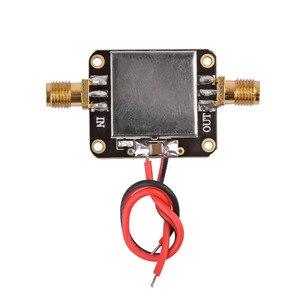 Image 2 - Радиочастотный усилитель AIYIMA 50M 6 ГГц, плата широкополосного усиления, усилитель с низким уровнем шума, средний усилитель, модуль усиления 19 дБ для FM, GPS, Wi Fi