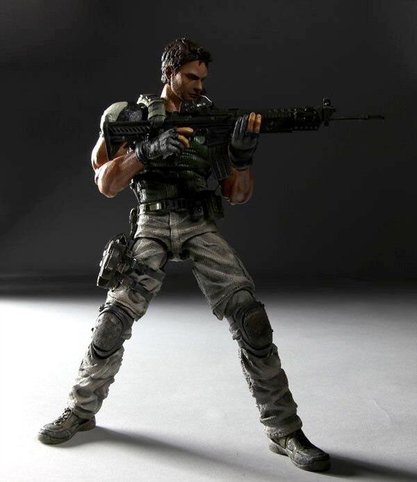 Play Arts 27cm Biohazard Resident Evil Action Figure Toys