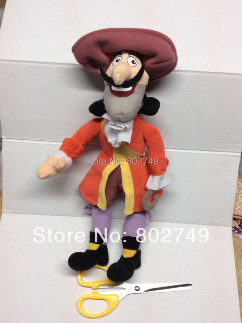 Jake y los piratas de nunca jamás Hook peluches capitán felpa 33 cm