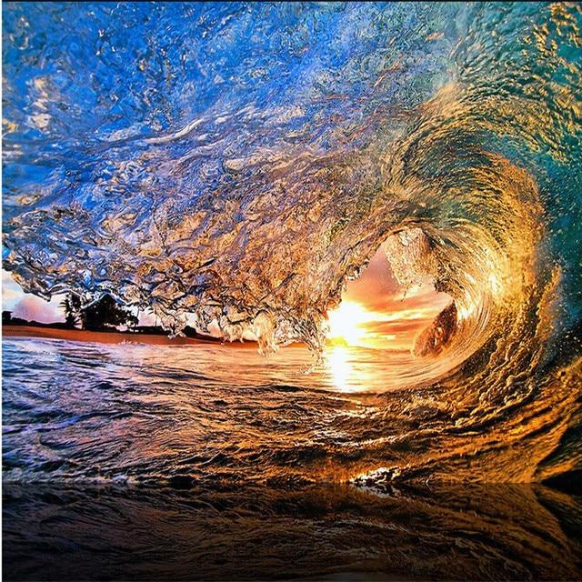 Wave Wallpaper High Resolution beibehang wall ...